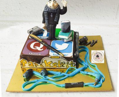 GRU Chocolate Truffle Cake Designs, Images, Price Near Me