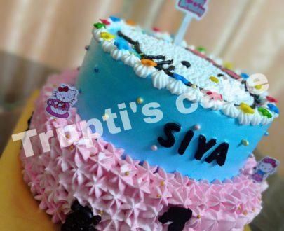 Hello Kitty Theme Cake Designs, Images, Price Near Me