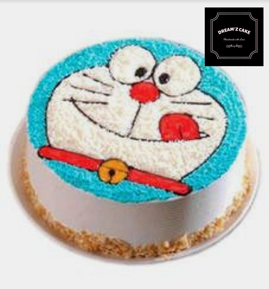 Doraemon Cartoon Theme Cake Designs, Images, Price Near Me