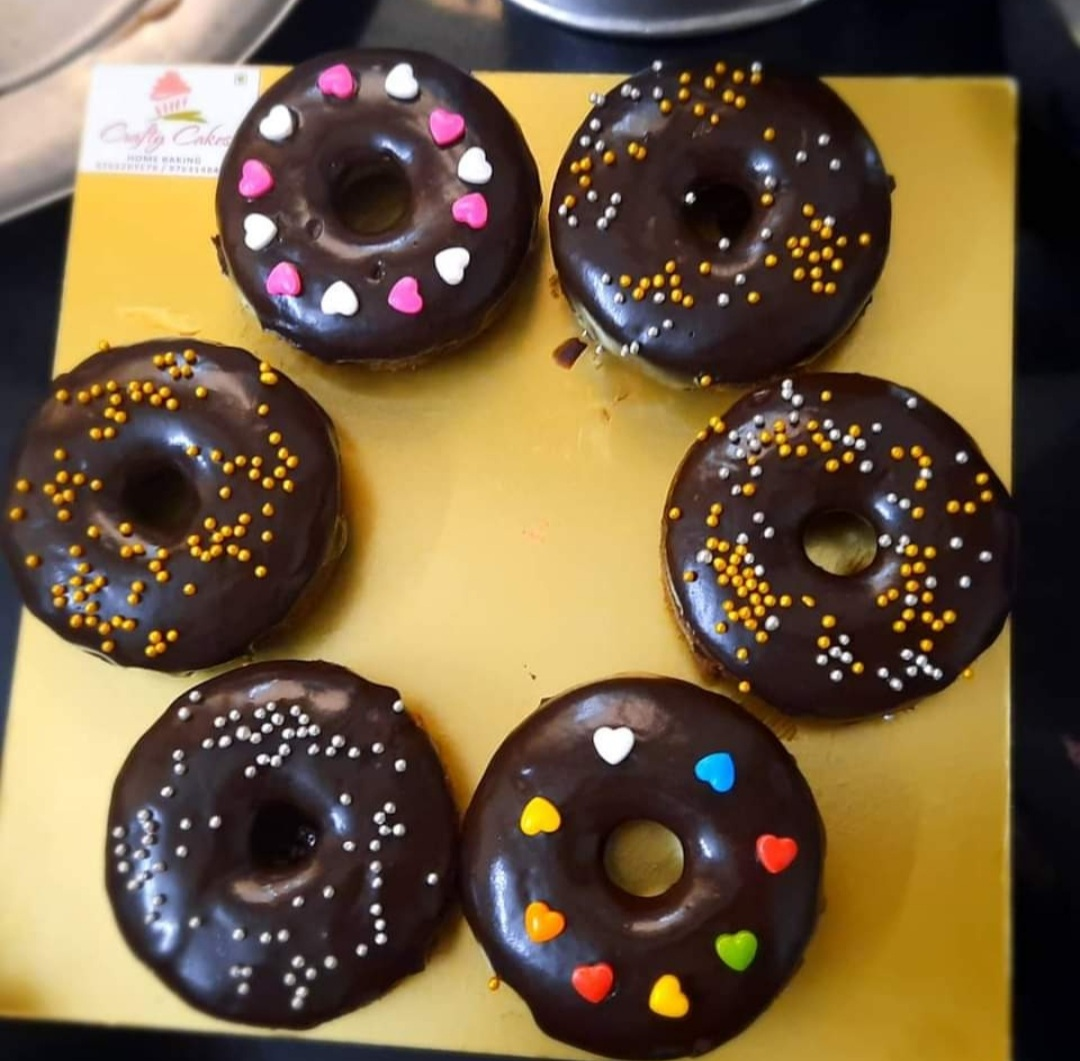 Chocolate Doughnuts (Pack of 6) Designs, Images, Price Near Me