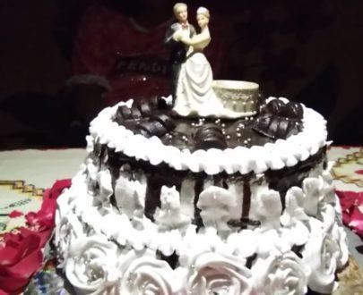 2 Tier Wedding Cake Designs, Images, Price Near Me