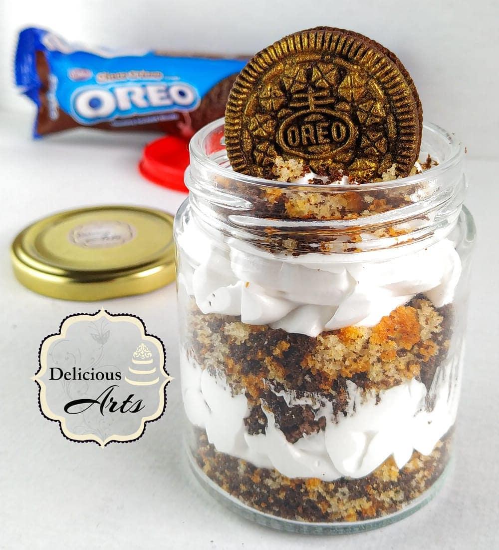 Oreo Jar Cake (Regular Size) Designs, Images, Price Near Me