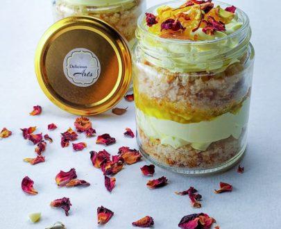 Rasmalai Jar Cake (Regular Size) Designs, Images, Price Near Me