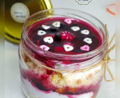 Blueberry Jar Cake (Regular Size) Designs, Images, Price Near Me