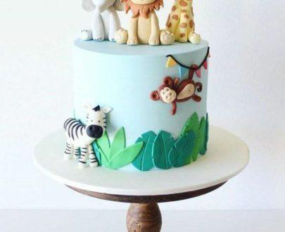 Animals Theme Cake Designs, Images, Price Near Me