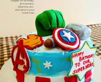 Avenger Cake Designs, Images, Price Near Me