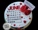 Rose / Gulkand Cake Designs, Images, Price Near Me