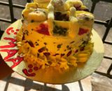 Red Velvet Heart Shaped Cake with cream chesse Designs, Images, Price Near Me
