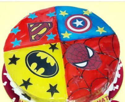 Avenger Theme Cake Designs, Images, Price Near Me