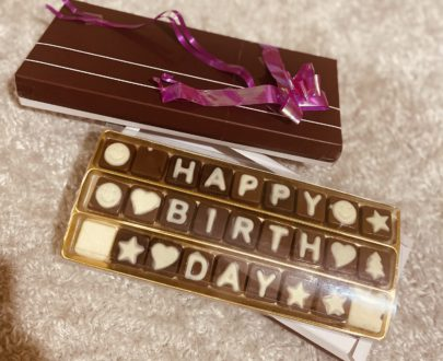 Chocolate Message Box Designs, Images, Price Near Me
