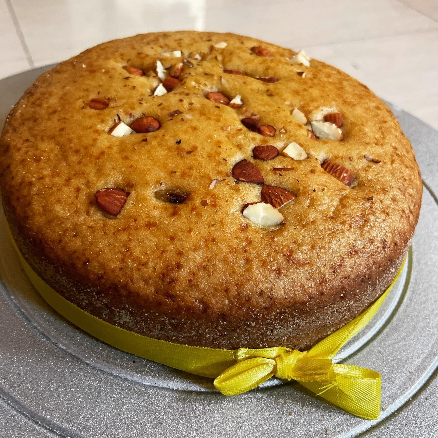 Wholewheat Almond Cake / tea time dry cake Designs, Images, Price Near Me