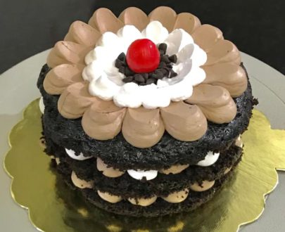 Chocolate Naked Cake Designs, Images, Price Near Me