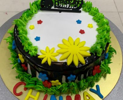 Chocochips Flavour Cake Designs, Images, Price Near Me