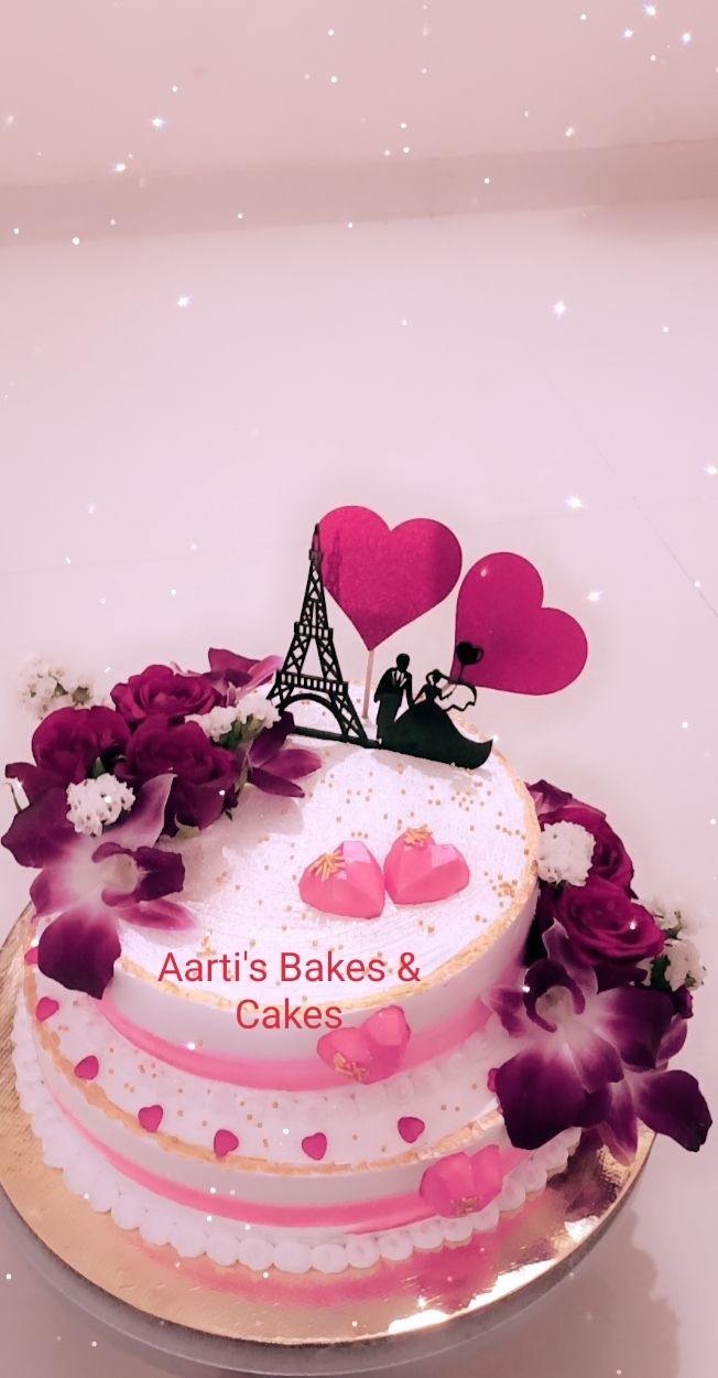Anniversary, Engagement Theme Cake Designs, Images, Price Near Me