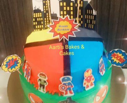 Avenger / Super Hero Theme Cake Designs, Images, Price Near Me