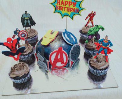 Avenger Piñata Cake Designs, Images, Price Near Me