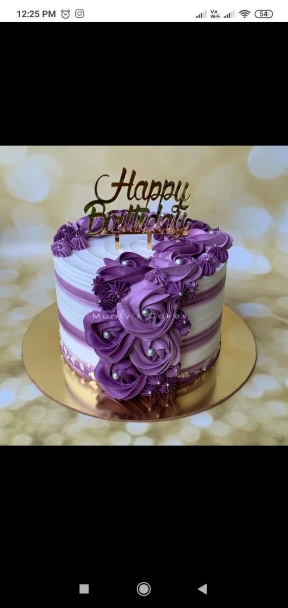 Blueberry Cake Designs, Images, Price Near Me