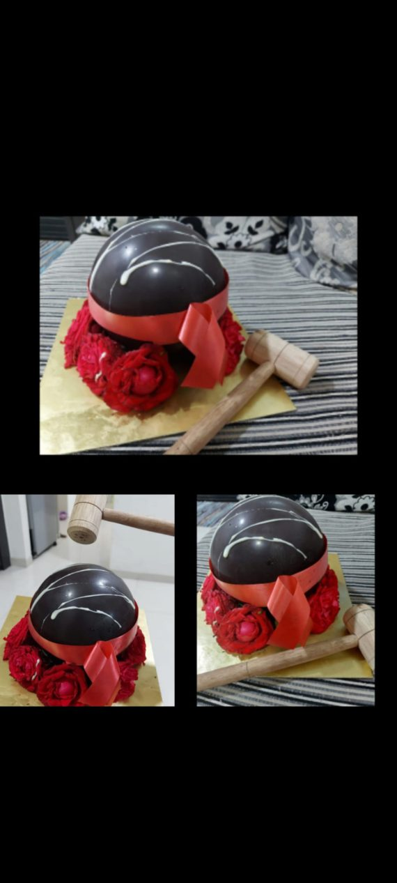 Round Shaped Pinata Cake Designs, Images, Price Near Me