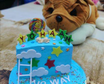 Half Year (6 month) Birthday Cake Designs, Images, Price Near Me