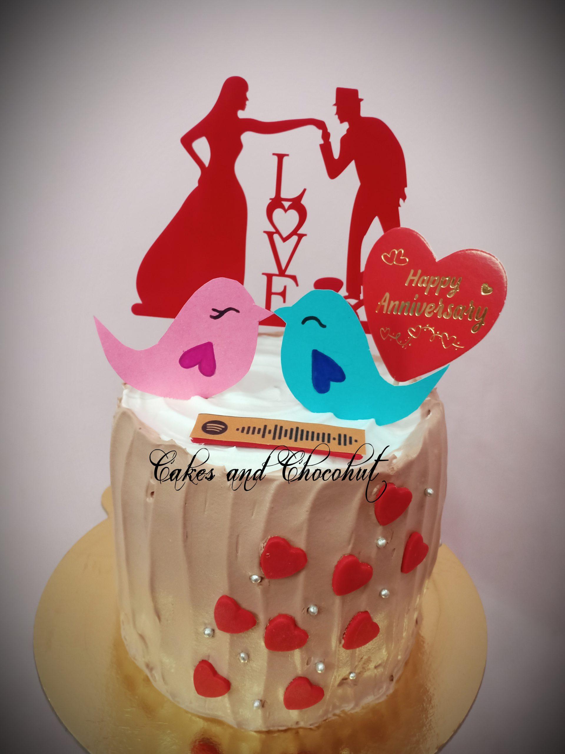Anniversary Cake/Spotify Cake Designs, Images, Price Near Me