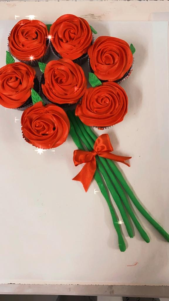Cup Cake Bouquet Designs, Images, Price Near Me