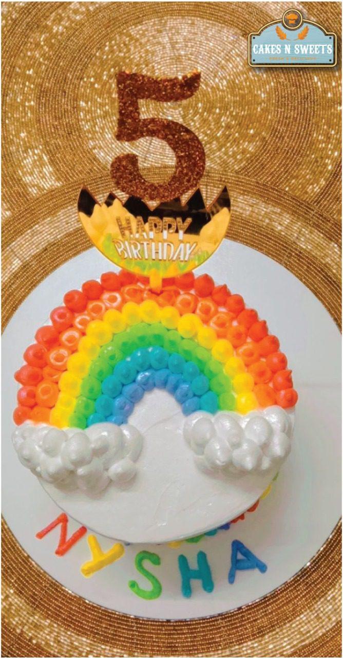 Rainbow Cake Designs, Images, Price Near Me