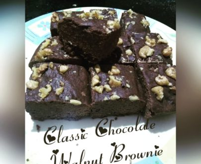 Classic Chocolate Walnut Brownie Designs, Images, Price Near Me