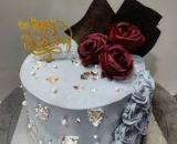 Crown Shimmer Cake Designs, Images, Price Near Me