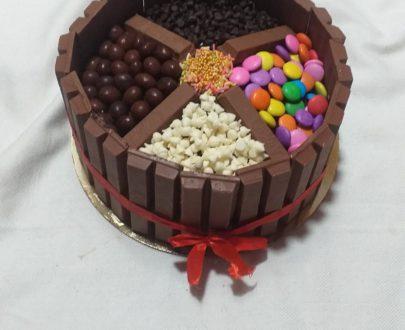 Kitkat Basket Cake Designs, Images, Price Near Me