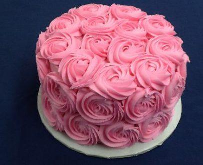 Rosette Cake Designs, Images, Price Near Me