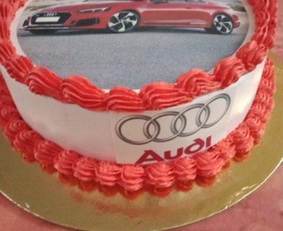 Audi Photo Print Cake Designs, Images, Price Near Me