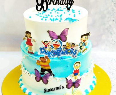Doraemon Theme Cake Designs, Images, Price Near Me