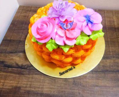 Flower Basket Cake Designs, Images, Price Near Me