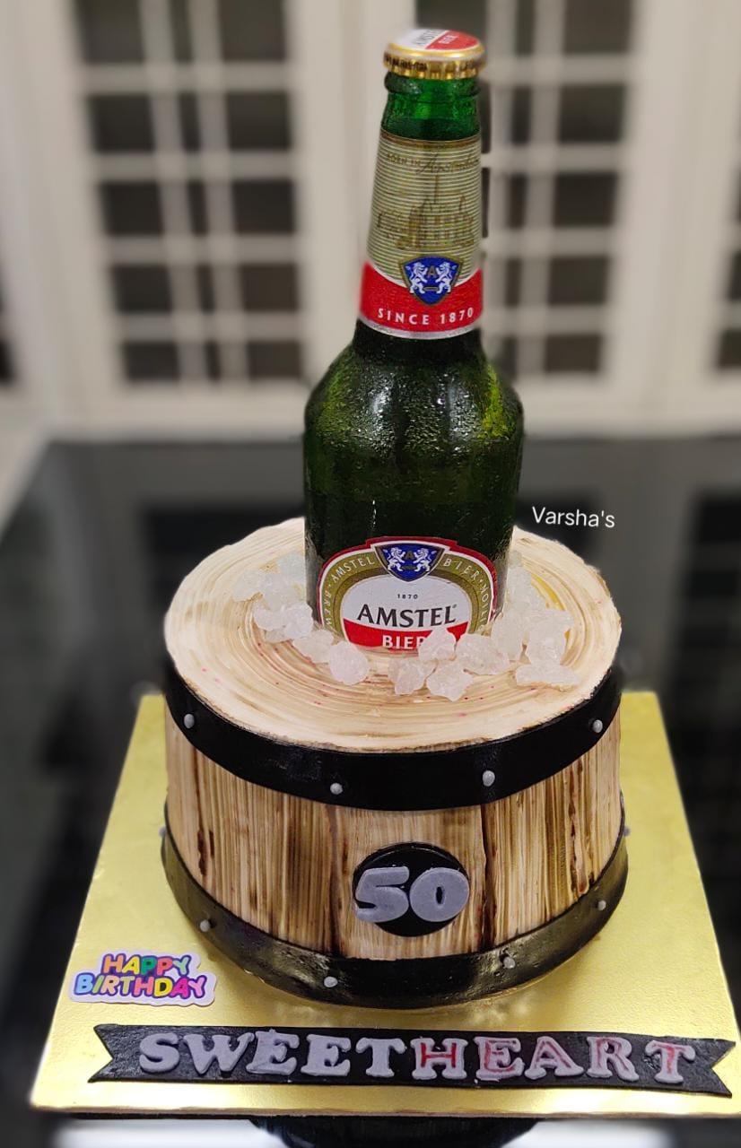 Whisky Barrel Cake Designs, Images, Price Near Me