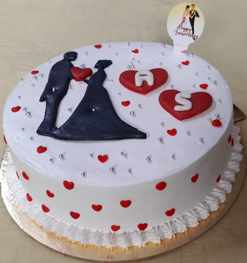 Anniversary Cake 1kg Designs, Images, Price Near Me