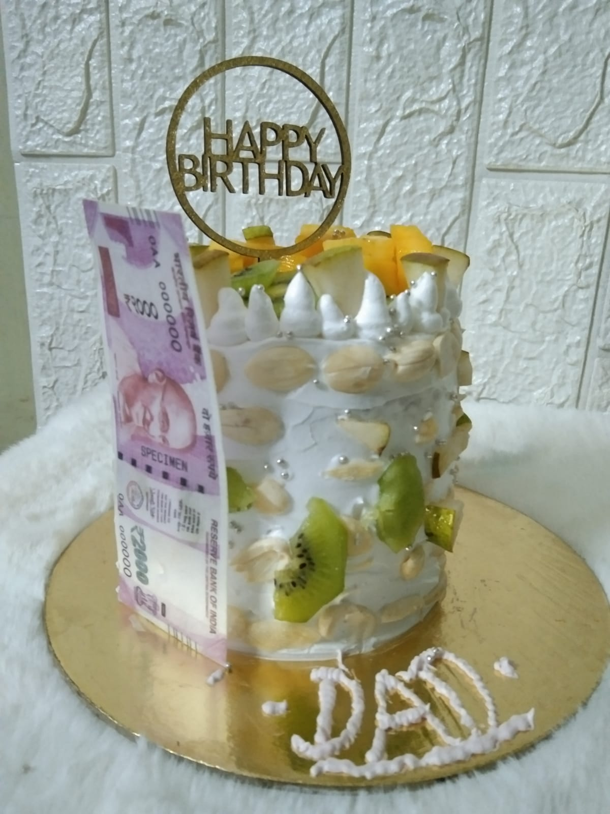 Almond Birthday Cake Designs, Images, Price Near Me