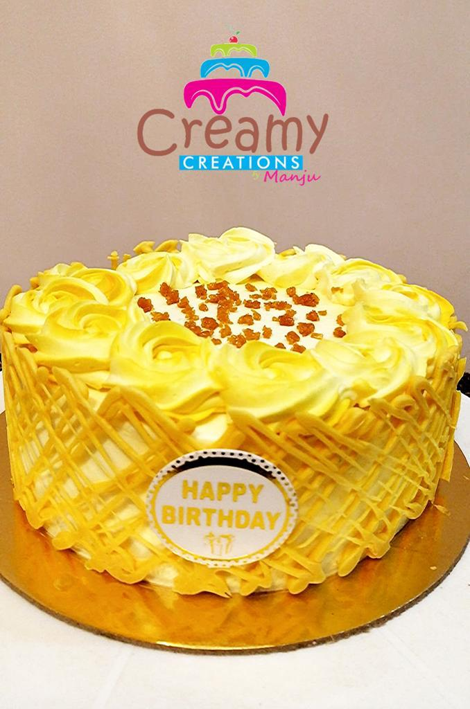 Butterscotch Cake Designs, Images, Price Near Me