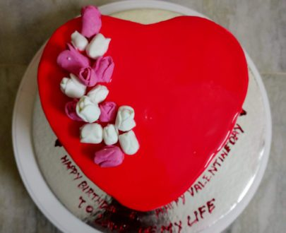 Heart Cake with mirror glaze Designs, Images, Price Near Me