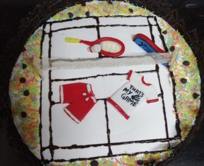 Badminton Theme Cake Designs, Images, Price Near Me