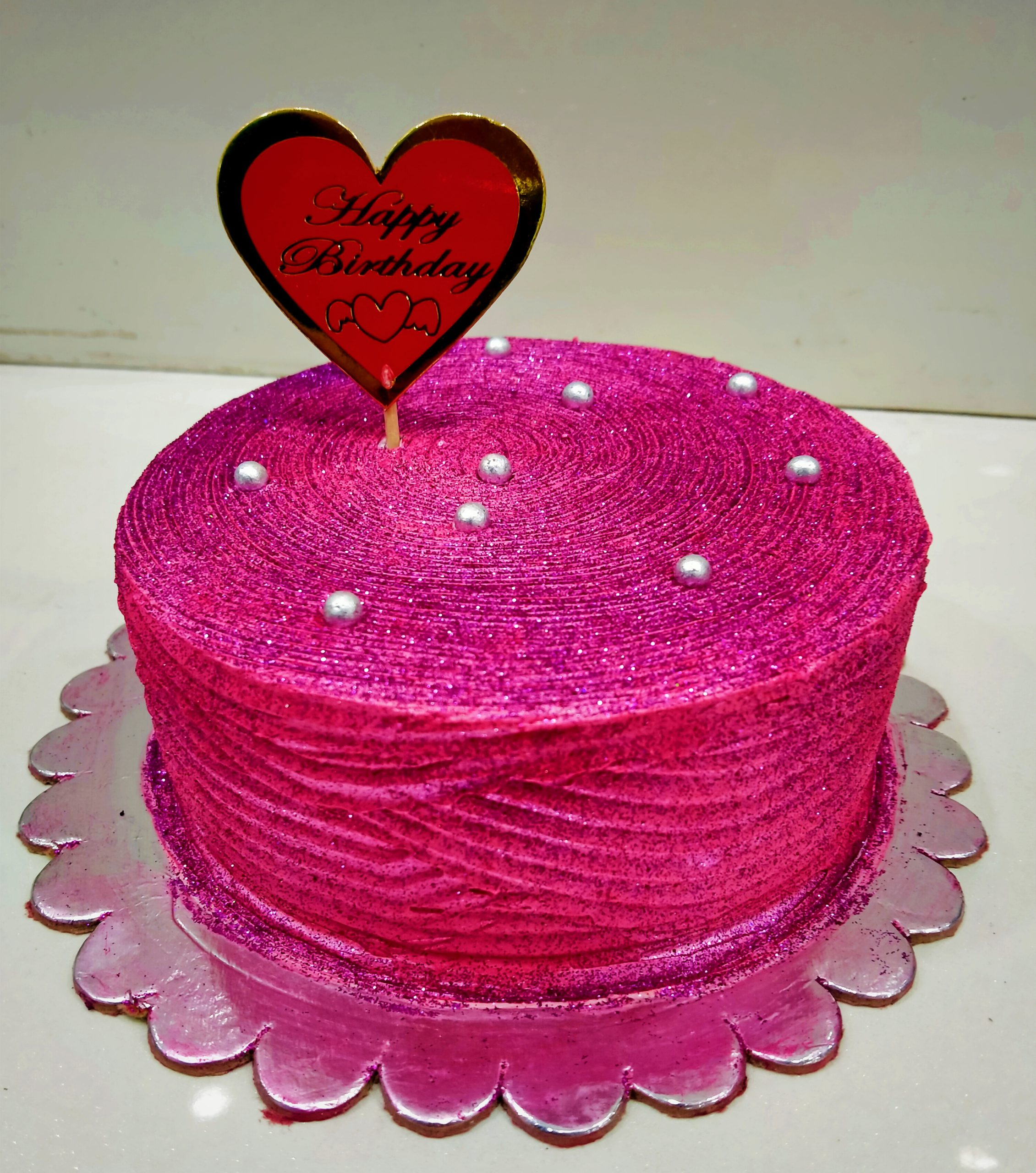 Blueberry Shimmer Cake Designs, Images, Price Near Me