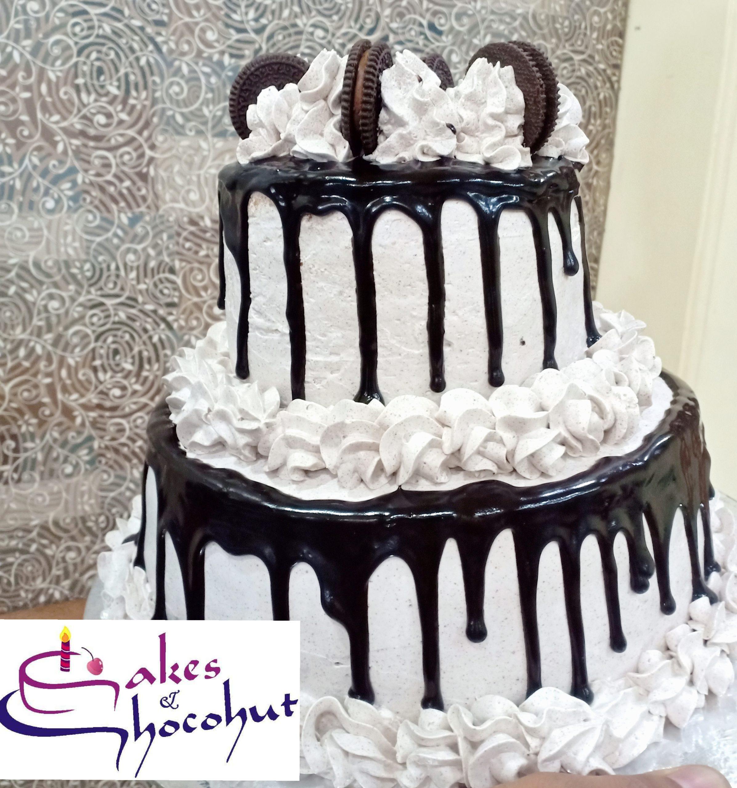 2 tier Oreo Cake Designs, Images, Price Near Me