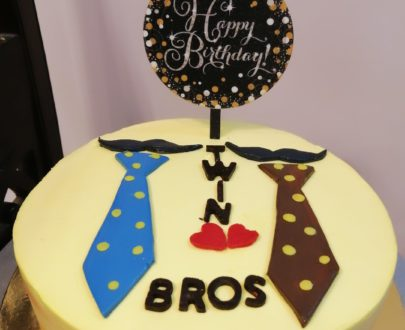 Twin Brothers Cake Designs, Images, Price Near Me