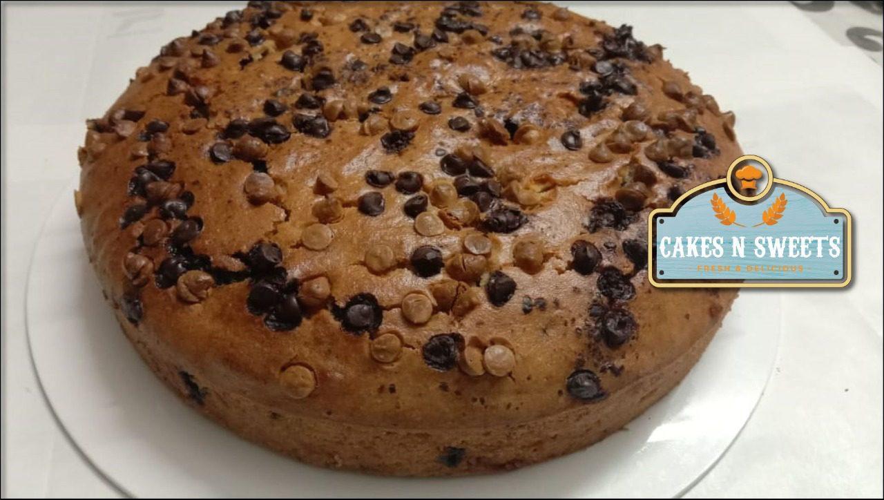 Banana Choco Chip Dry Cake (Tea Time Cake) Designs, Images, Price Near Me