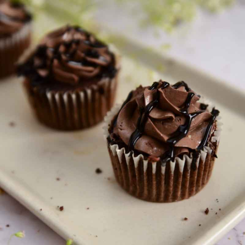 CHOCOLATE TRUFFLE CUPCAKES Designs, Images, Price Near Me
