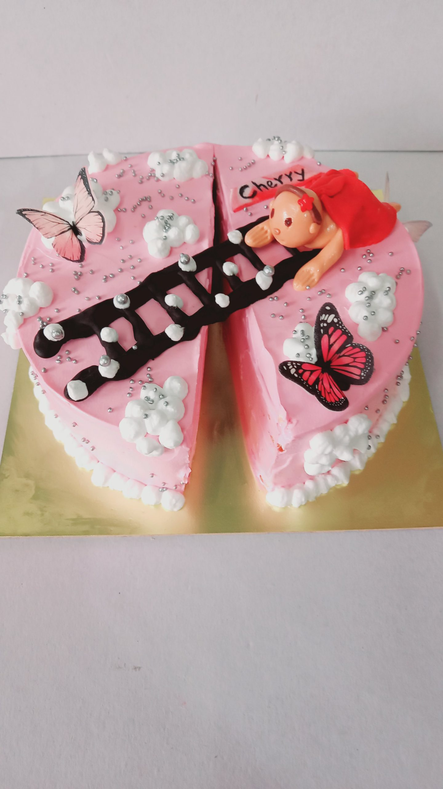 Half Way To One Theme Cake Designs, Images, Price Near Me