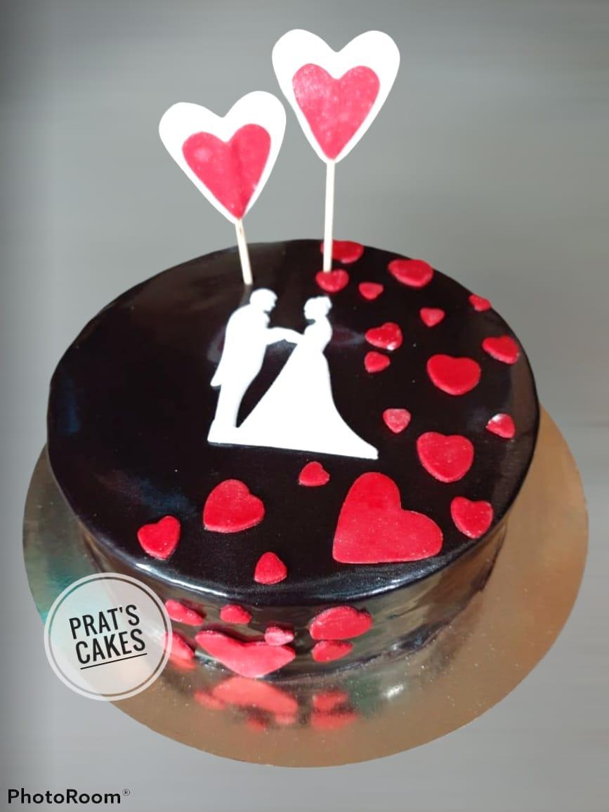 Anniversary/Couple/Love theme cake Designs, Images, Price Near Me