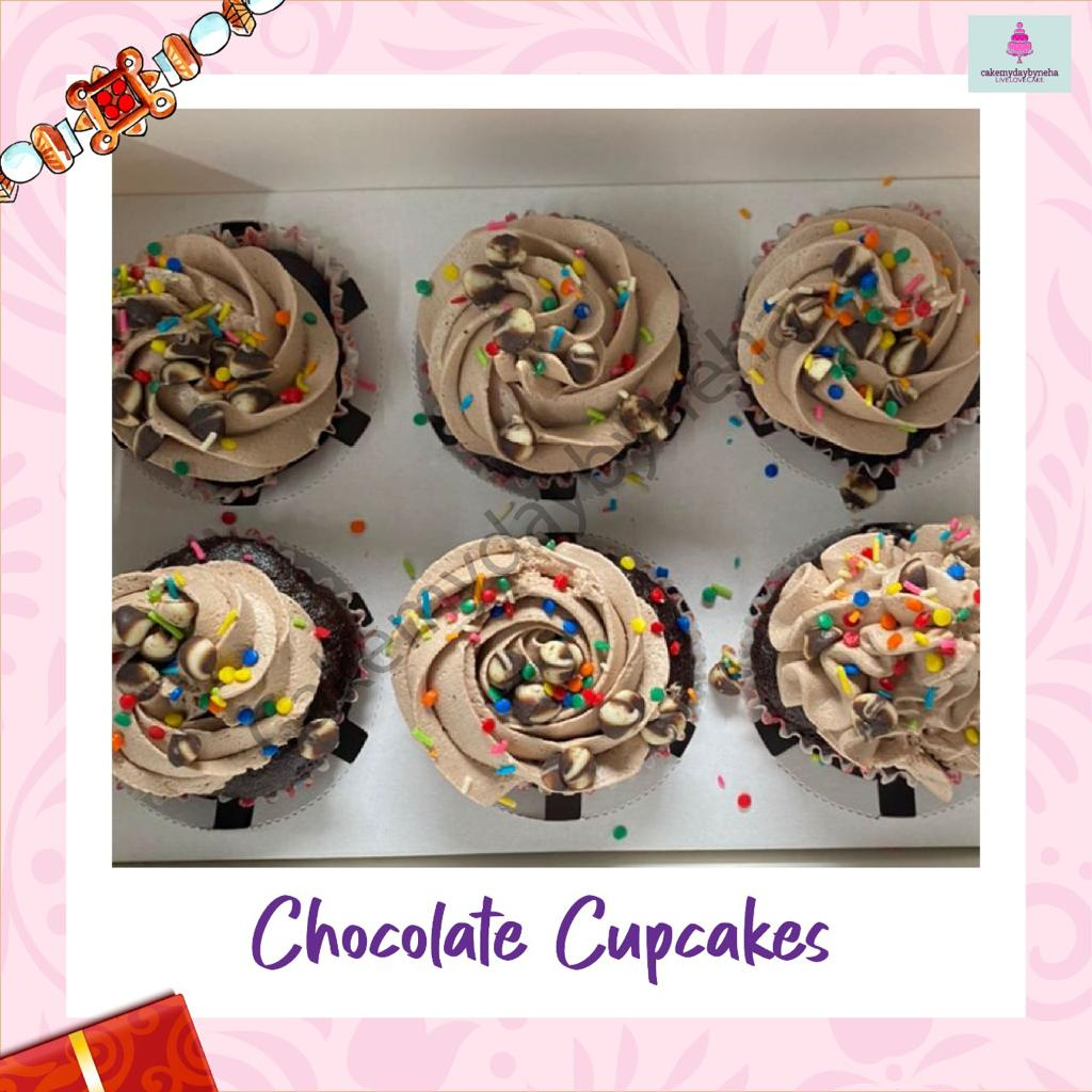 Chocolate Cupcakes Designs, Images, Price Near Me