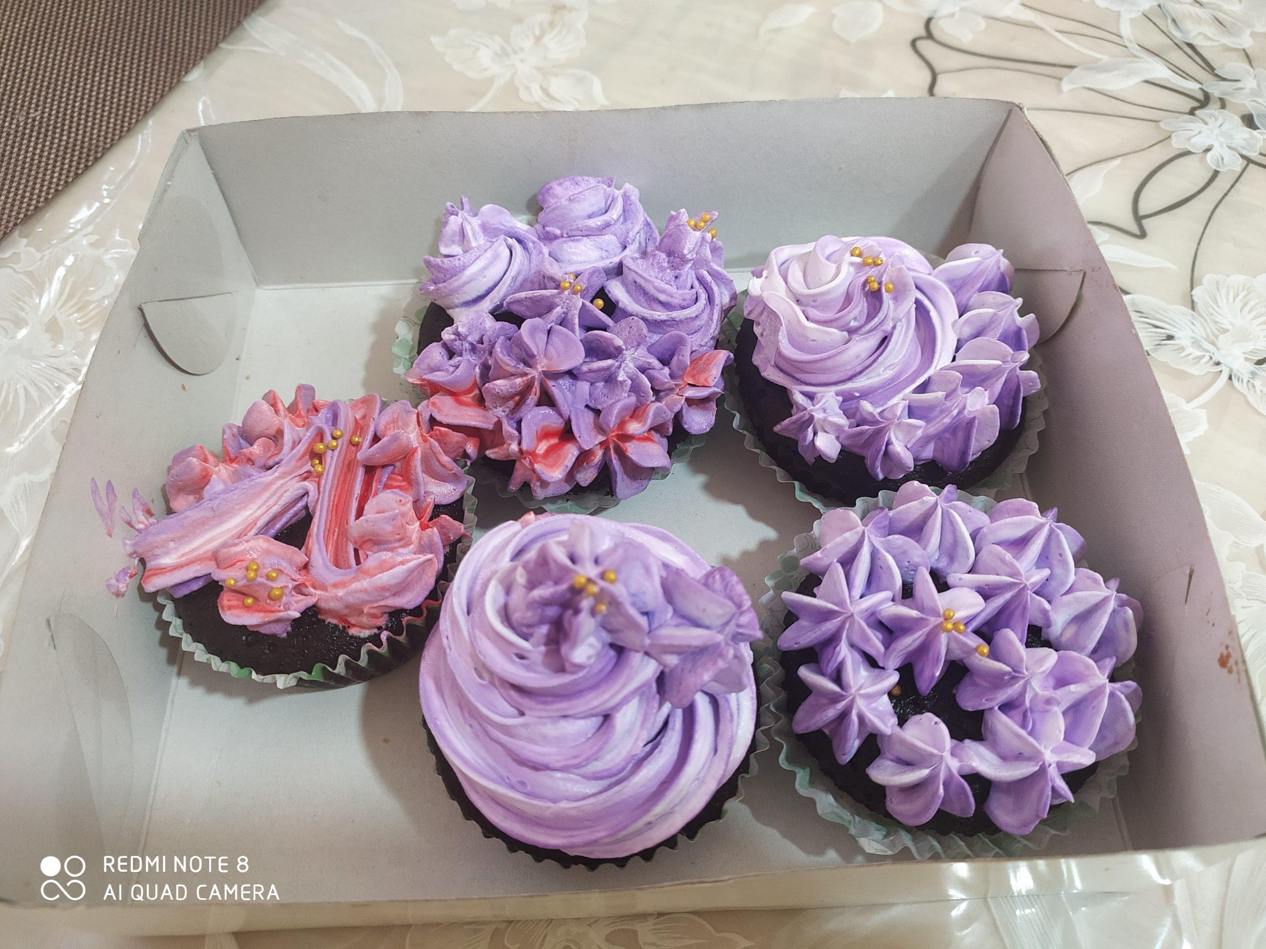 Cupcakes (minimum 6 pieces order) Designs, Images, Price Near Me