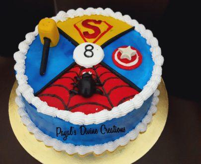 Avengers theme Chocolate Dutch Cake Designs, Images, Price Near Me