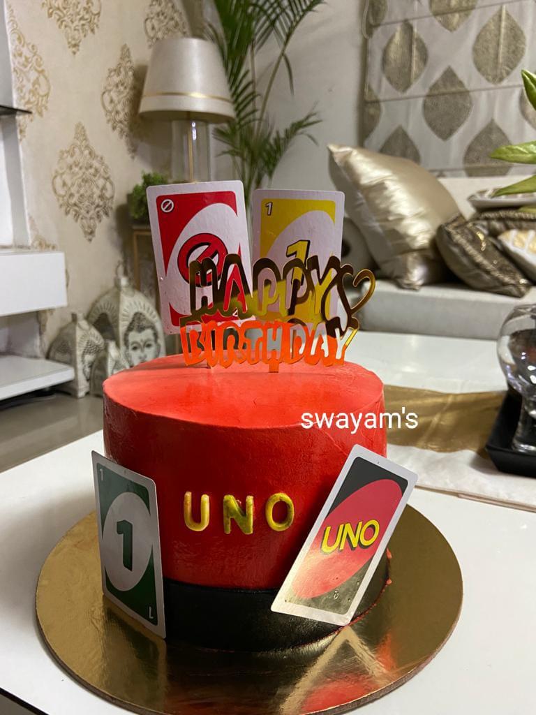 UNO Cake Designs, Images, Price Near Me